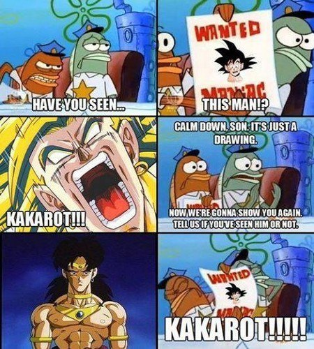 anime SpongeBob SquarePants Dragon Ball Z - 8757485312