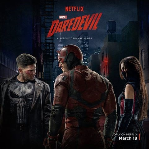 daredevil punisher This New Poster for 'Daredevil' Wants You to Take a Good, Long Look at the Punisher's Costume