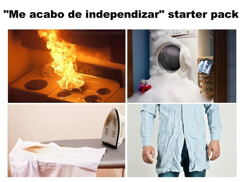 me acabo de independizar