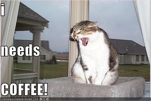 i needs COFFEE!