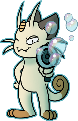 Meowth Fan Art - 8757738240