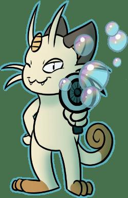 Meowth Fan Art - 8757738240