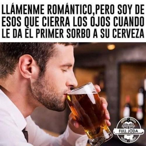 ser romantico es