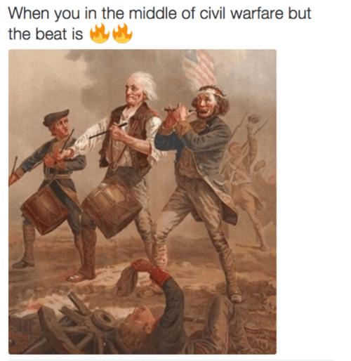 history memes war