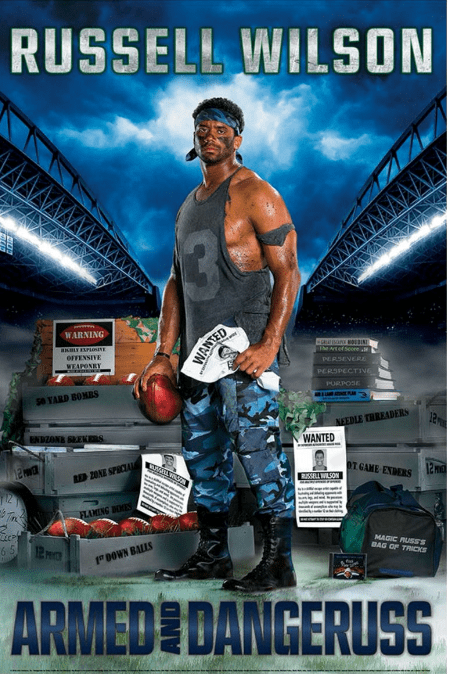 rambo nfl internet russell wilson reactions football funny - 875781
