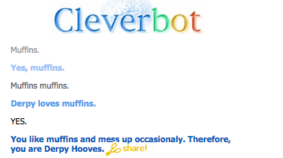 derpy hooves Cleverbot - 8757818880