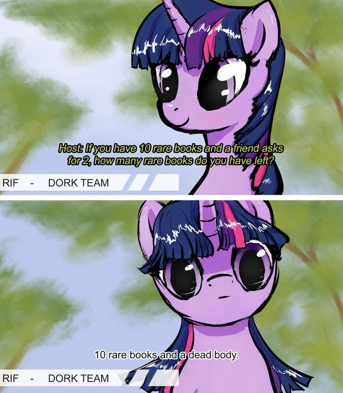 twilight sparkle,books