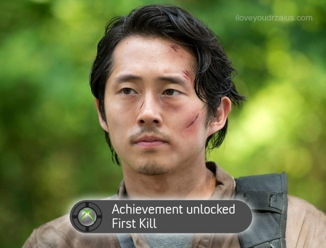 walking dead achievement unlocked