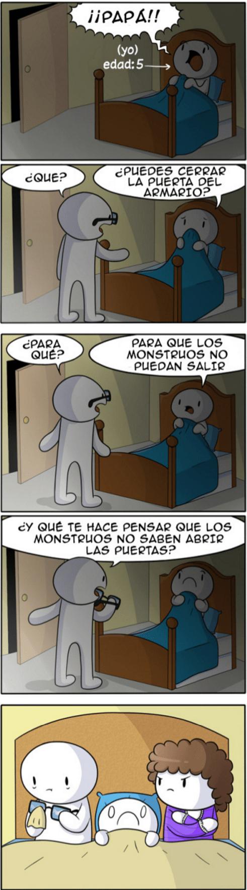 monstruos en el armario