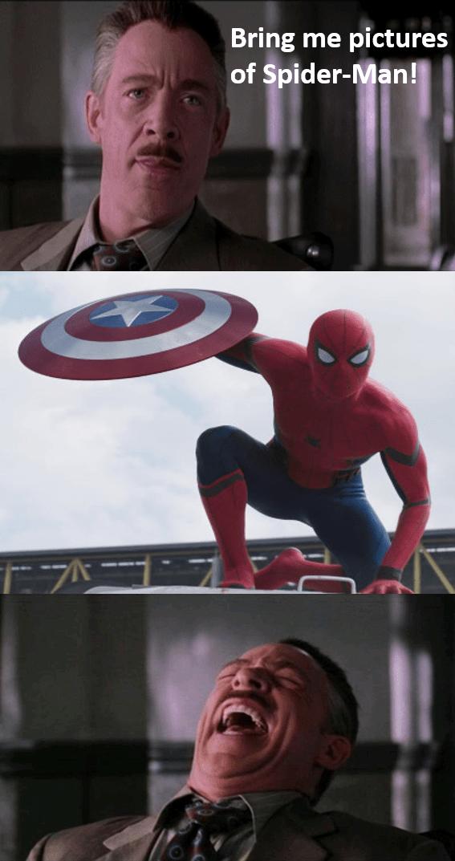 marvel Spider-Man captain america civil war - 8758049024