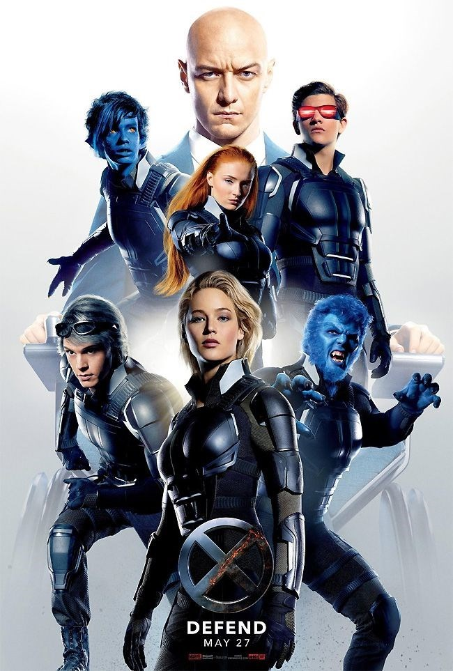 x-men apocalypse poster The Defensive Side Gets a Poster for 'X-Men: Apocalypse'