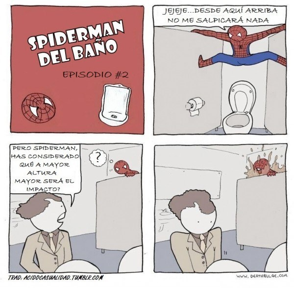 logica nivel spiderman