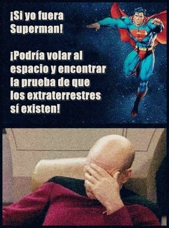 si fuera superman