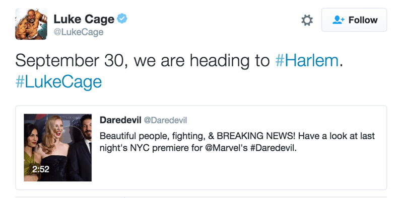 luke cage marvel video Marvel's 'Luke Cage' Has Announced a Release Date