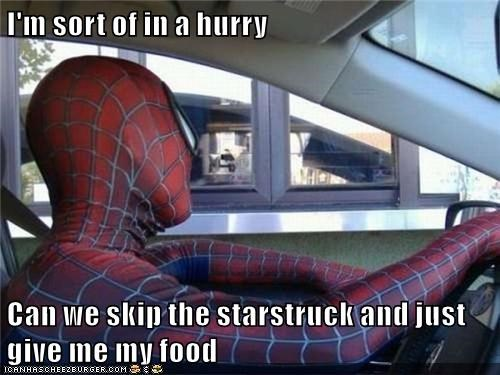 comics entertainment meme food Spider-Man - 8758417664