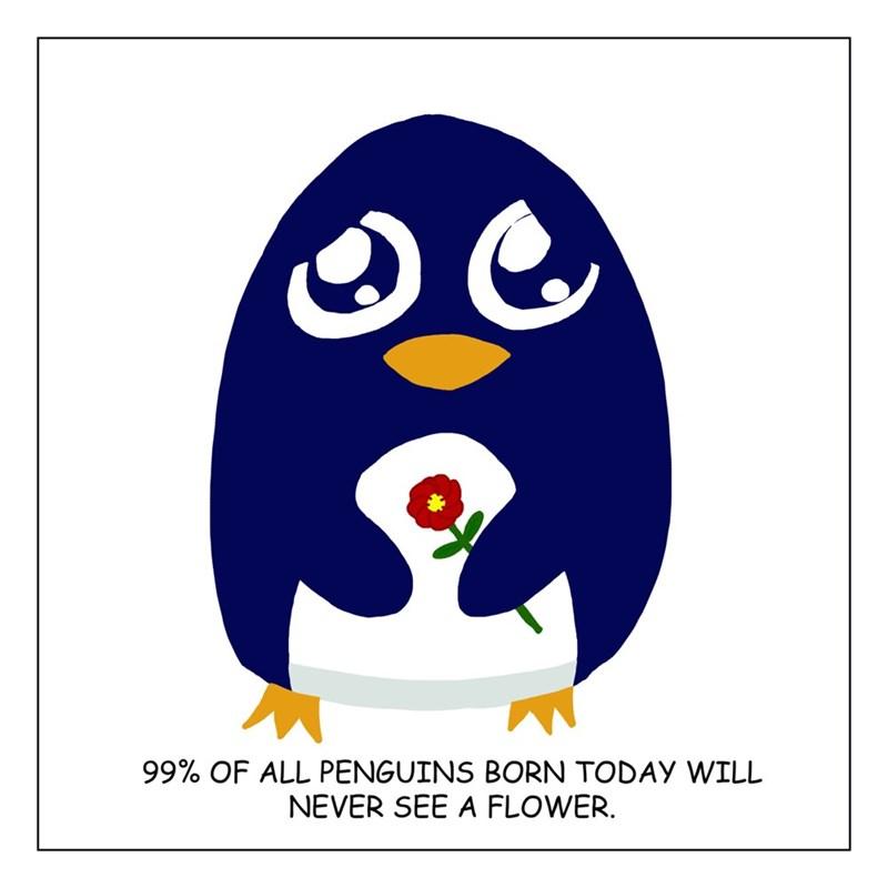 web comics penguins cute But That's So Sad