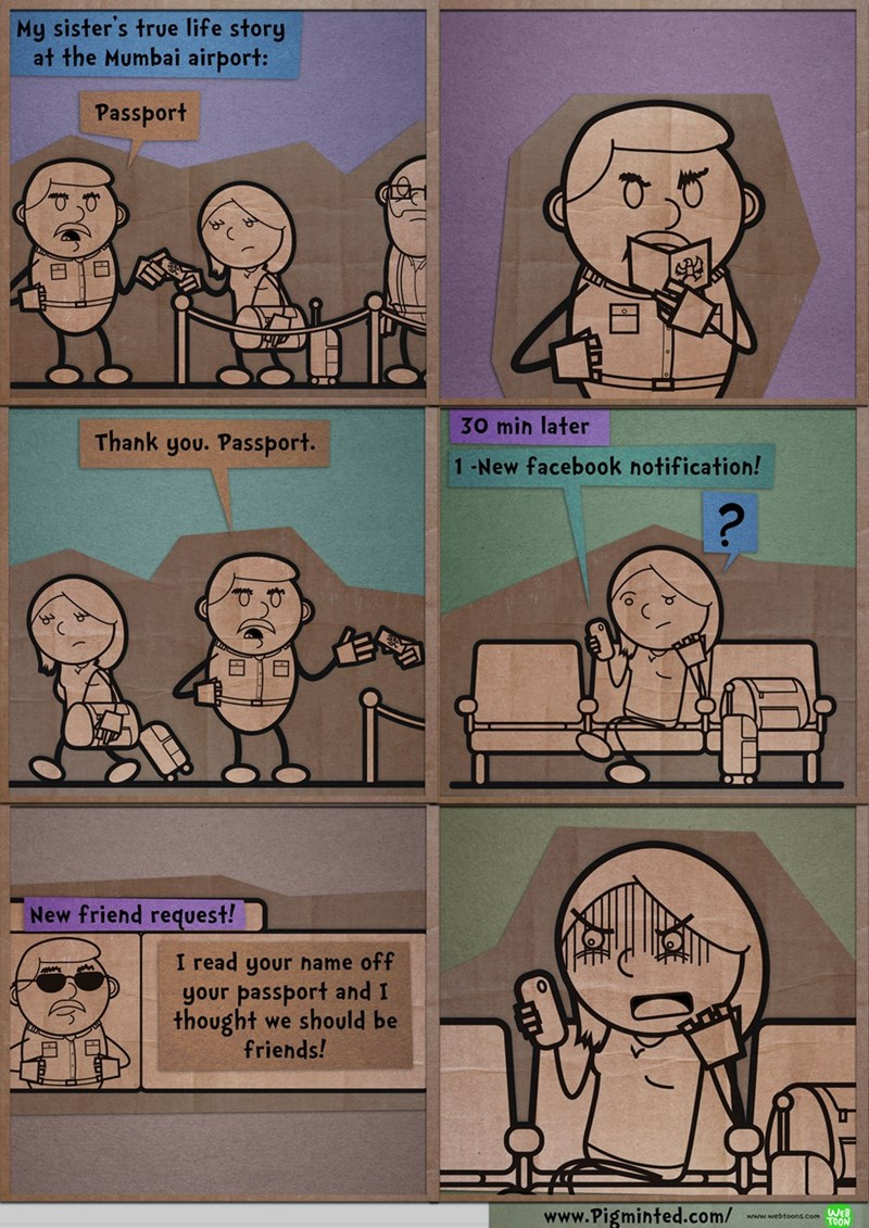web comics facebook passport That's It, I'm Using a Fake Name
