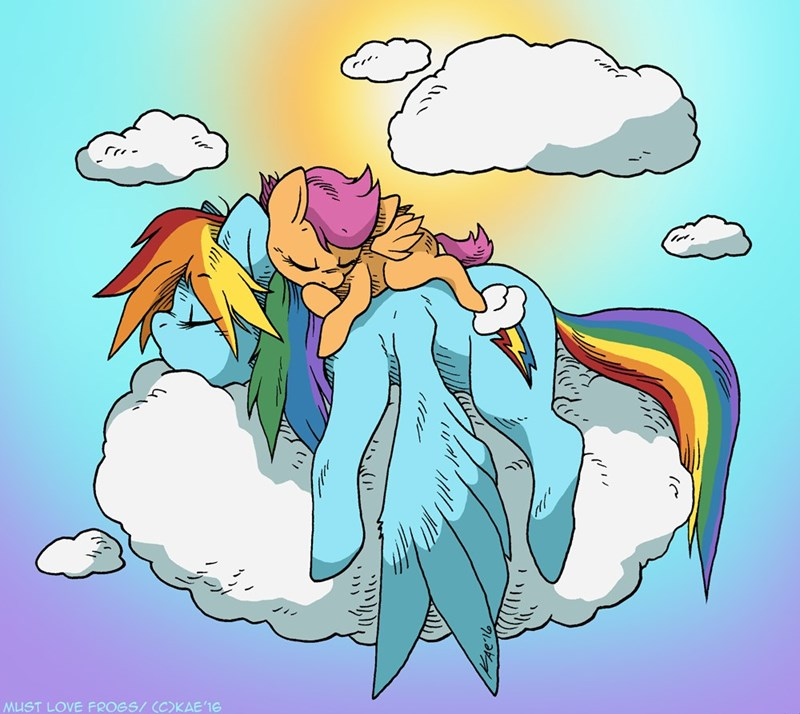 Scootaloo rainbow dash - 8758825984