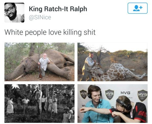 murder twitter white people