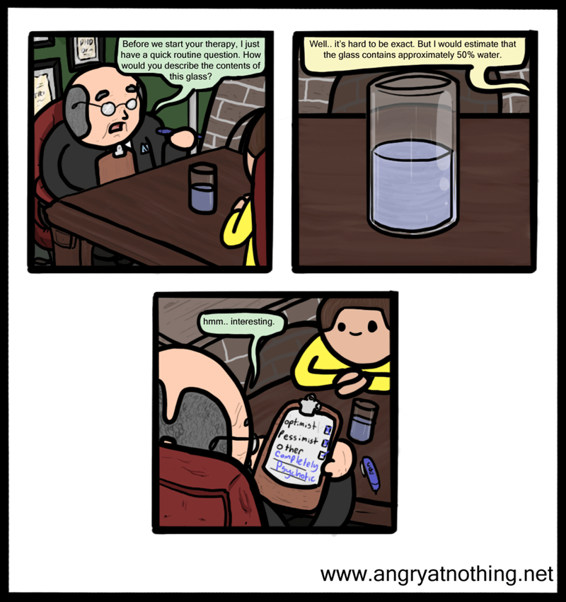literalism glass half something web comics - 8758894848