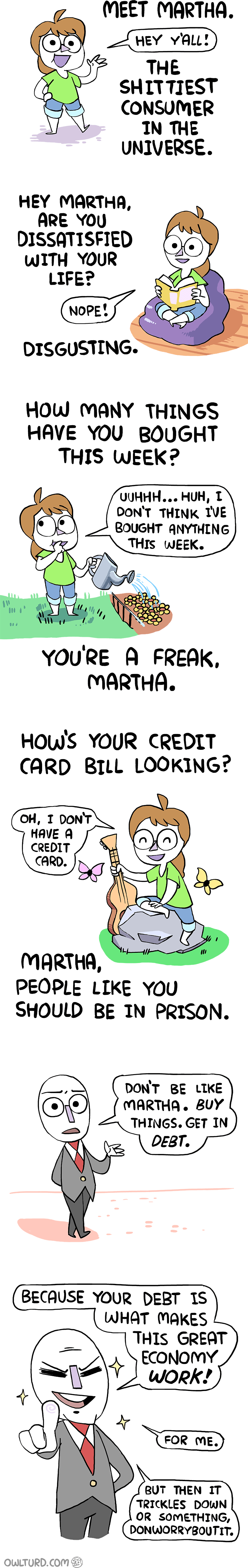 finances debt web comics - 8758959360