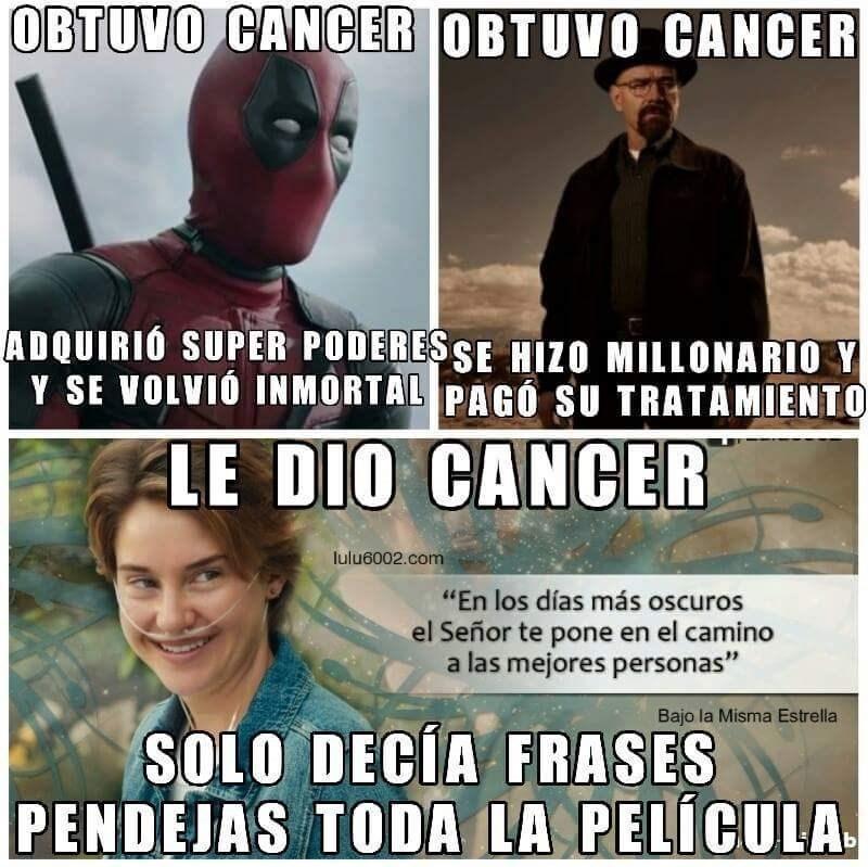 obtuvo cancer
