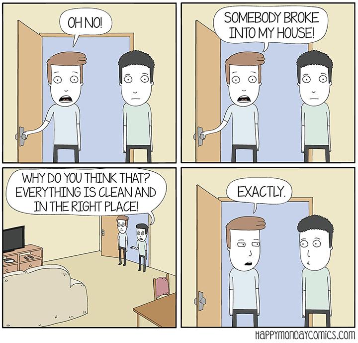 web comics clean It's the Perfect Crime