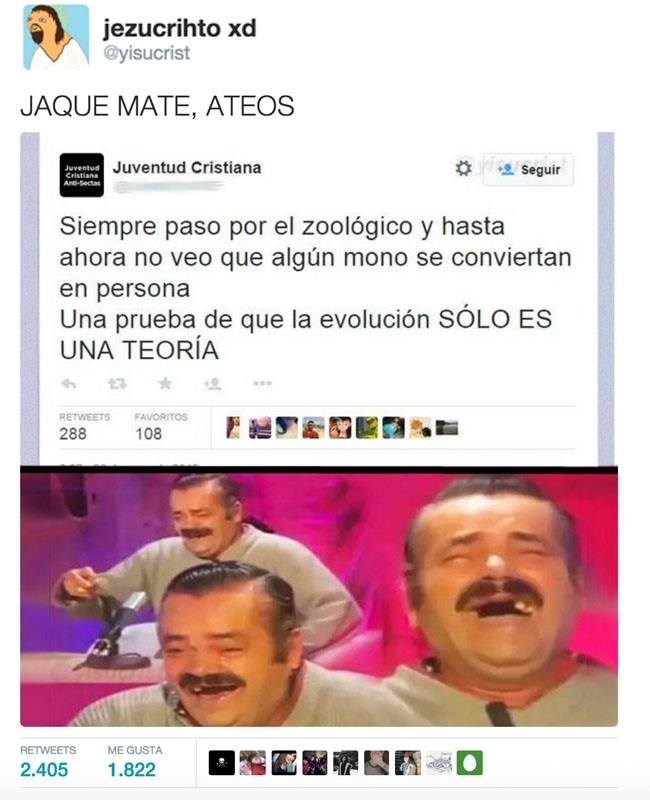 jaque mate ateos