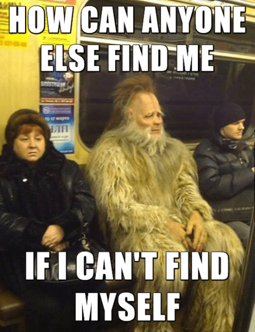introspective bigfoot meme
