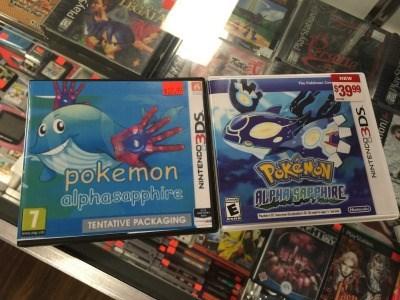 pokemon memes alpha sapphire tentative packaging