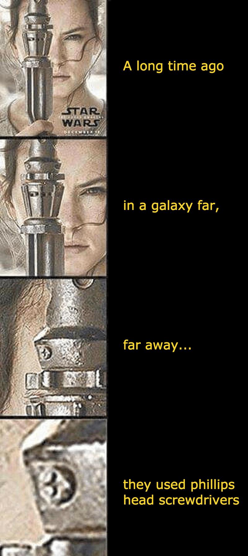 screwdriver scifi star wars seems legit - 8759291648