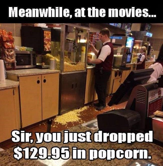cost movies Popcorn expensive - 8759291904
