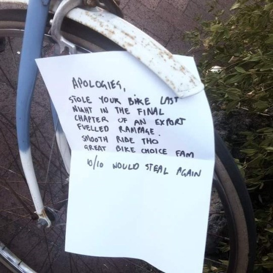 sign IRL bike theft - 8759292416