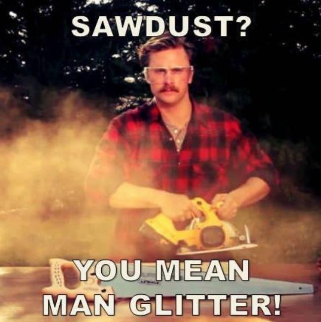 dudes,masculine,glitter,sawdust
