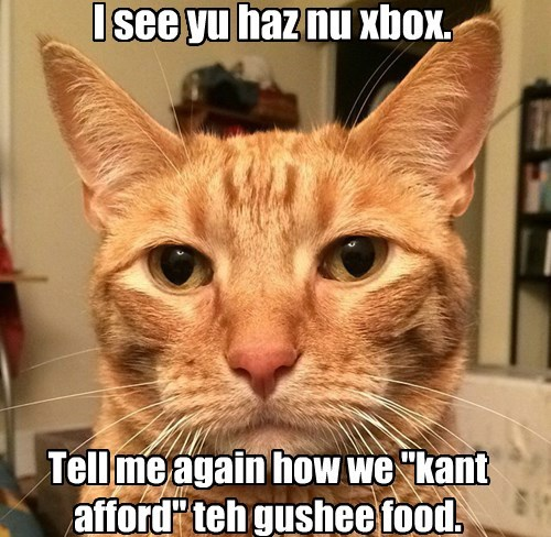 Lex is judging you...always.