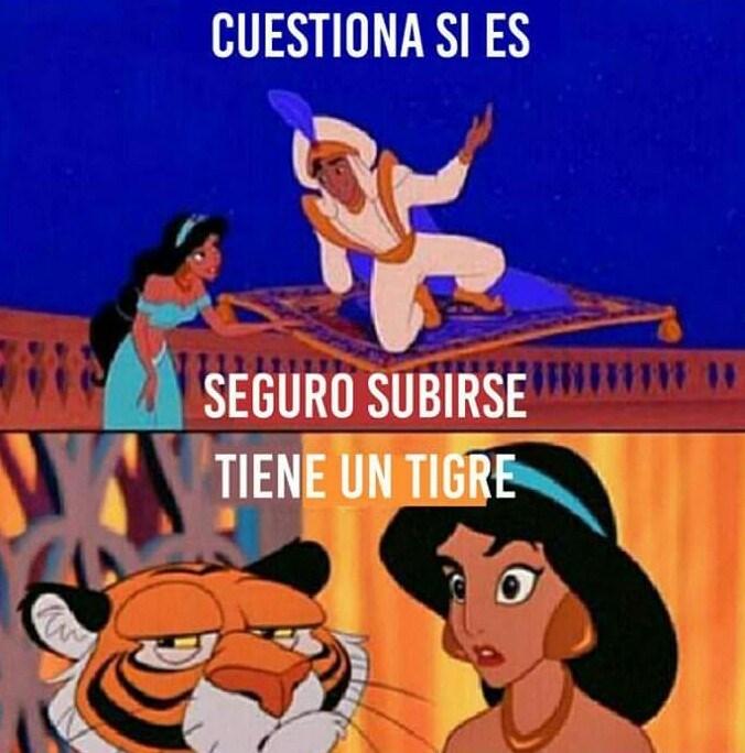 tiene un tigre