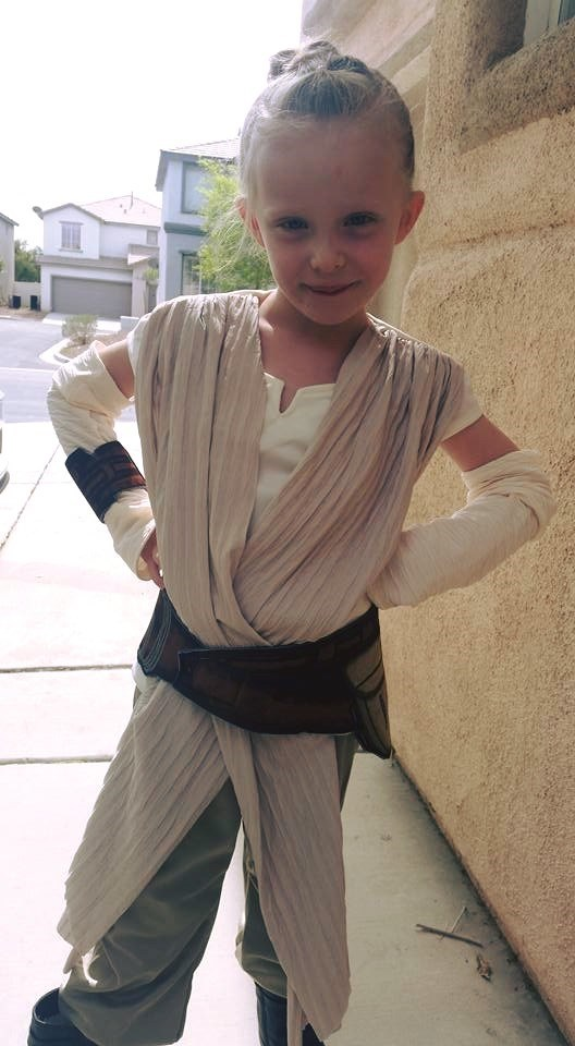rey cosplay kids cute - 8759544320