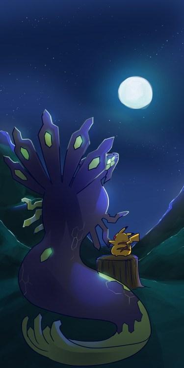 pokemon memes pikachu comforting zygarde