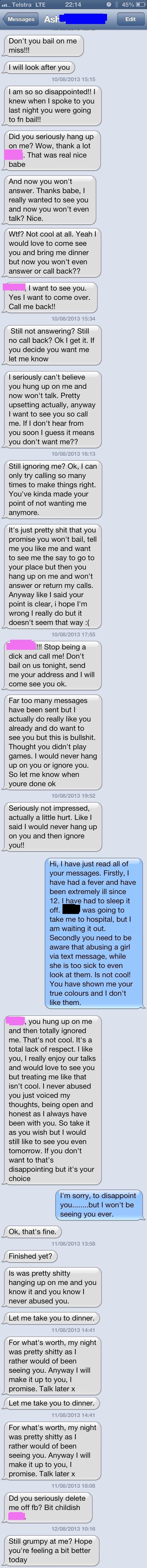 clinger cringe texting dating - 8759640320