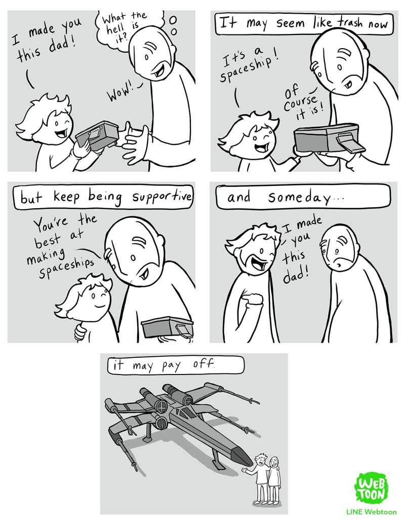 parenting,space,web comics