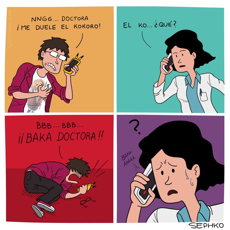 me duele el kokoro