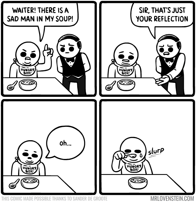 web comics tears soup It's a Little Salty
