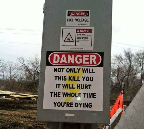 This Sign is Dead Serious