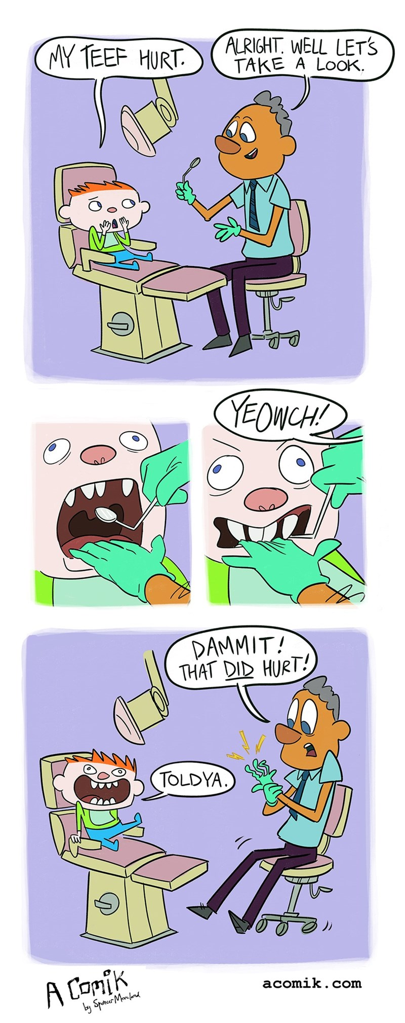puns teeth web comics - 8760045568