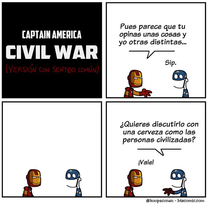 civil war civilizada