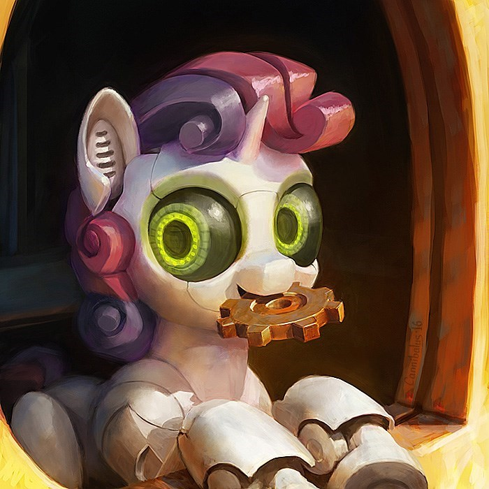 cannibalism Sweetie Belle sweetie bot - 8760314368
