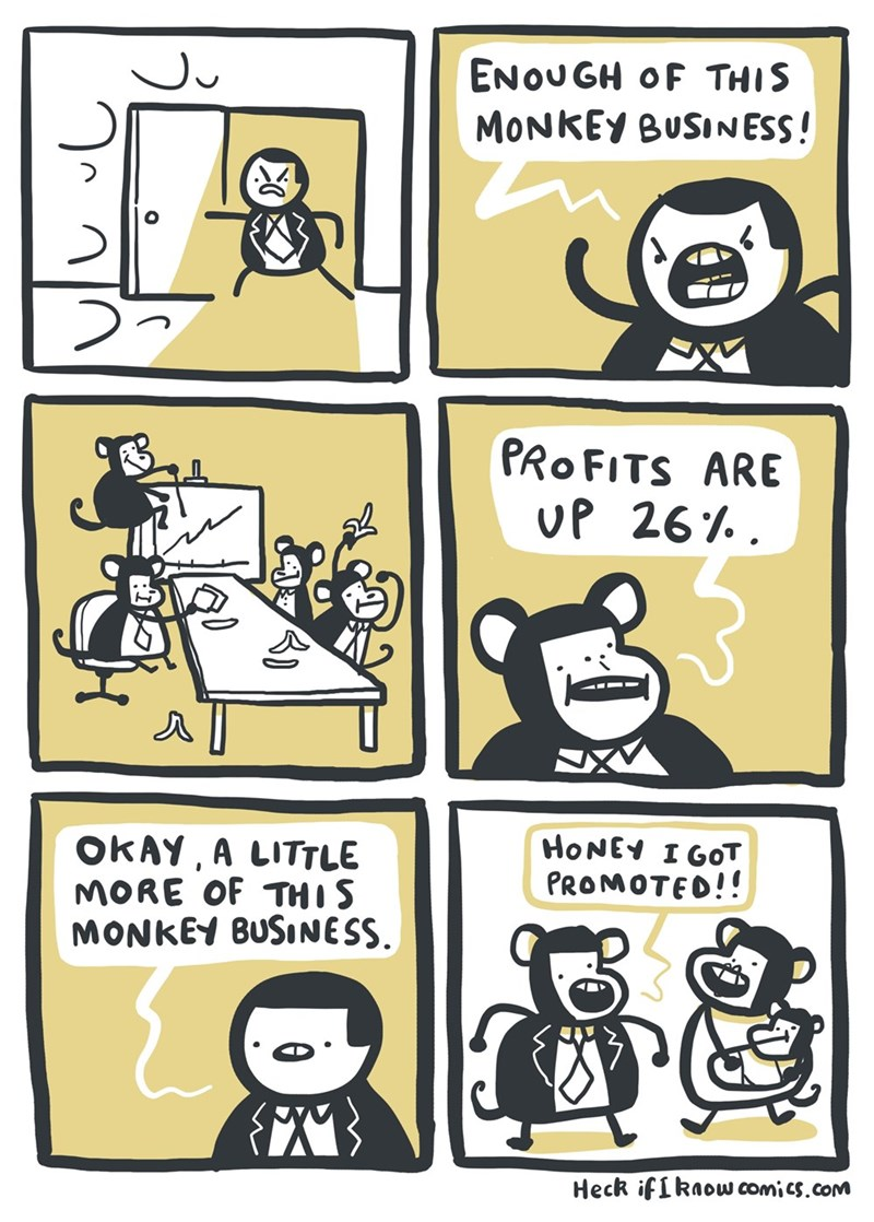 puns web comics work Gotta Follow the Money