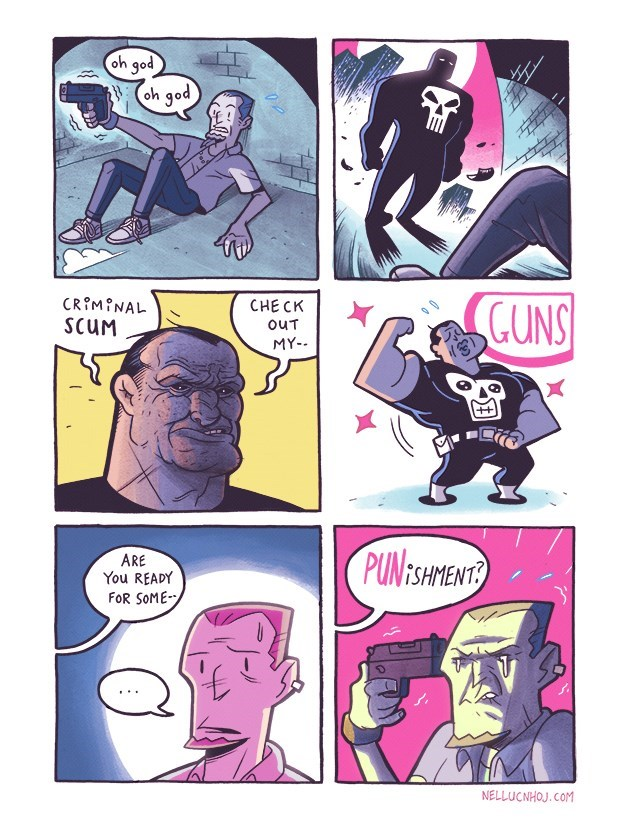 punisher puns web comics Might Be the Punisher's Dad