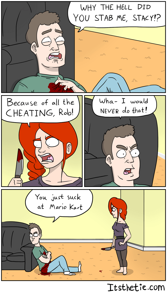 mario kart relationships web comics Ruining Relationships Since 1992