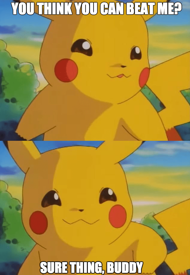 pikachu,sassy